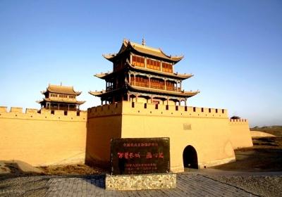 古代丝绸之路的交通要塞,中国长城三大奇观之一