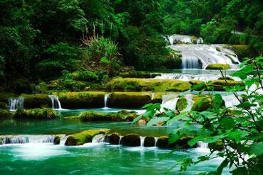 小七孔景区-68级瀑布与跌水