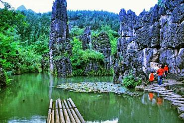 天星桥水上石林7