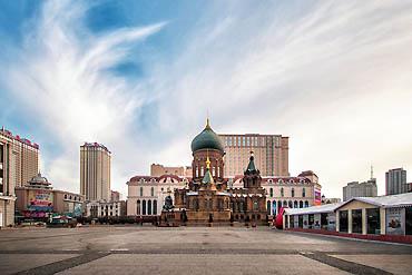 摄图网_500832276_banner_哈尔滨圣索菲亚大教堂(企业商用)